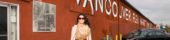 Women of Vancouver: Jackie Ellis @ The Vancouver Flea Market